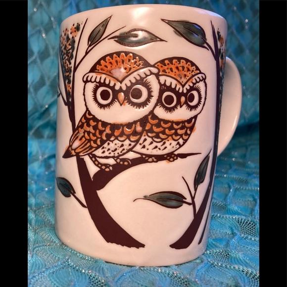 😻 3 for $13 Vintage Owl Coffee Mug